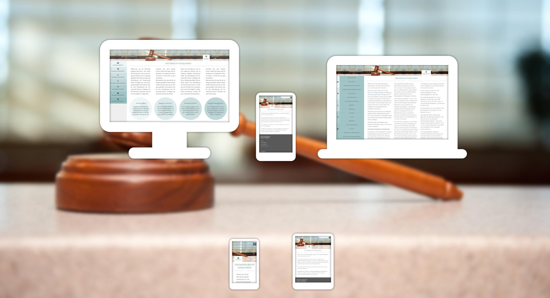 Erbrecht in Bulgarien website design