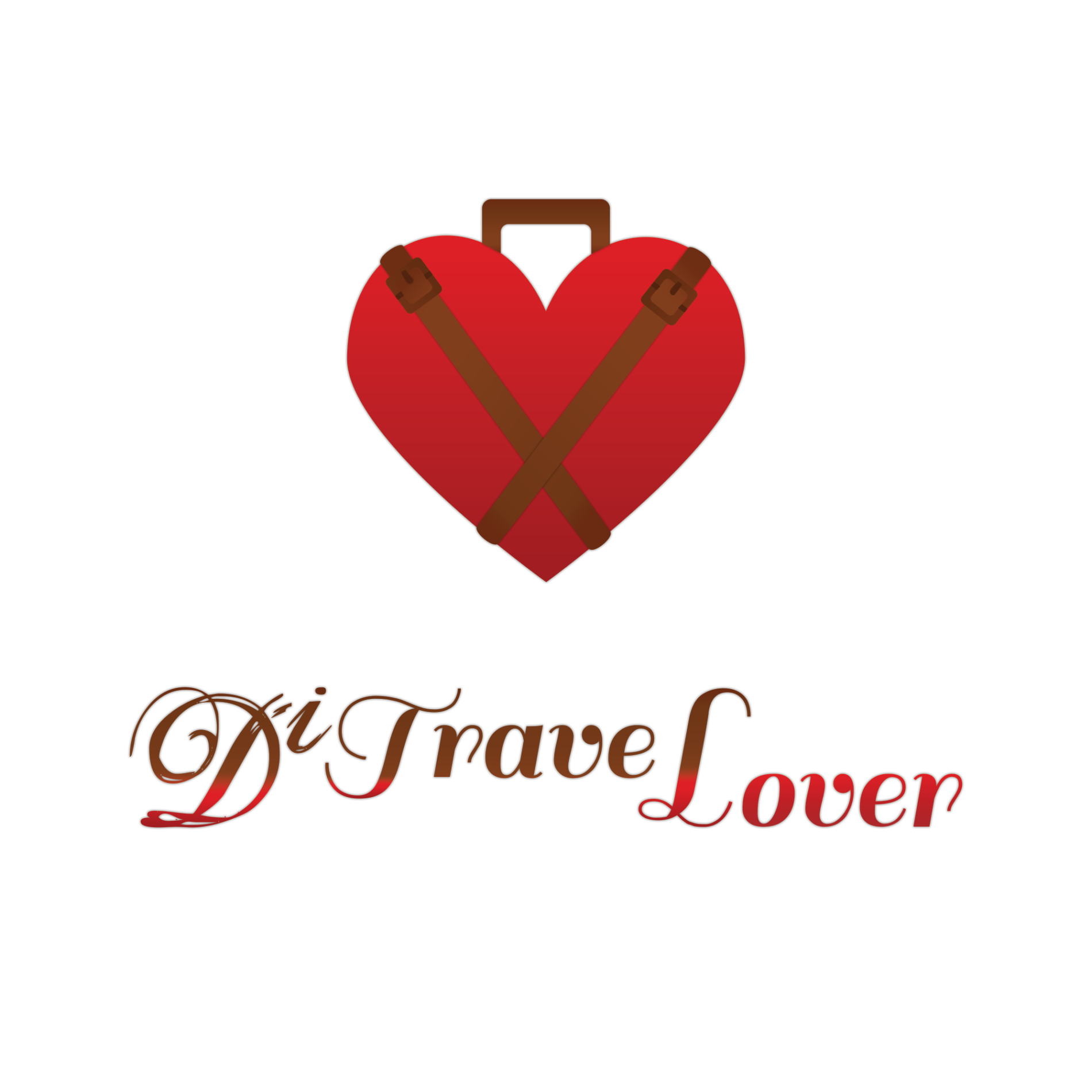 ditravelover logo design
